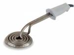 Quemador electrico redondo Lacor 68652 - 12 cm - Quemador de cremas eléctrico de forma redonda de 12 cm de diámetro marca Lacor. Utensilio de cocina diseñado para aplicaciones en cocina y repostería que requieran quemar azúcar, caramelo,.. para dejar una fina capa dorada como en el caso de la crema catalana. - Diámetro: 12 cm. - Alimentación eléctrica: 220-230v, 50-60 hz. - Potencia: 1000 w. - Peso Neto: 1,268 kg.