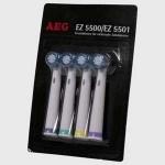 Recambio de cepillo dientes eléctrico AEG EZ 5500 - EZ 5501 - Cepillos de repuesto - recambio para cepillo eléctricos de dientes AEG EZ 5500 - EZ 5501 . 4 unidades.