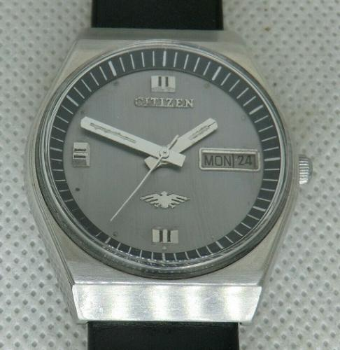 Reloj Vintage CITIZEN Automatic 21 Rubis Cal.8200 Calendario - Inox.- Made in Japan