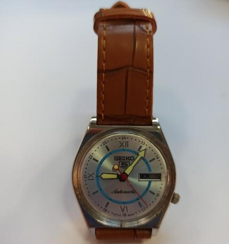 Reloj Vintage Seiko 5 Automátic - Calendario - Inox- Made in Japan