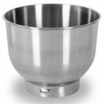 Bowl de acero accesorio Bomann Km362 - Clatronic KM3323 - KM3421 - Bol de acero inoxidable de 5 litros de capacidad, accesorio para ser utilizado en amasadoras batidoras mezcladoras Bomann Km 362 - Clatronic KM 3323. Características: - Para mezclar batir y amasar. - Accesorio válido para Bomann Km362 - Clatronic KM3323 - KM3421. - Duradero y de fácil limpieza.