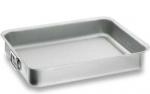 Rustidera de Lacor - serie Chef Classic - varias medidas - La rustidera de Lacor de la serie Chef Classic está diseñada para su uso en hostelería profesional. Con cuerpo de acero inoxidable 18-10 ofrece una excelente resistencia a la corrosión y a los ácidos alimentarios y sales. La rustidera posee fondo sandwich, inoxidable - aluminio - inoxidable, termodifusor. Las asas fuertes para una fácil subjección. Esta rustidera es apta para cocina de gas, eléctrica, vitrocerámica y de inducción. Con un ángulo de fondo que permite una limpieza a fondo y accesibilidad alrededor de las asas. Apta para limpieza en lavavajillas. - Ver Detalles -