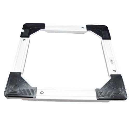 Soporte carro cuadrado - rectangular extensible con ruedas