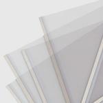 Carpeta UNIBIND Steelmat A4 Aluminio - 25 Unidades - Carpeta transparente Unibind Steelmat con lomo de acero color aluminio, cubiertas mate, tamaño A4 vertical - Especifique el grosor en DETALLES -