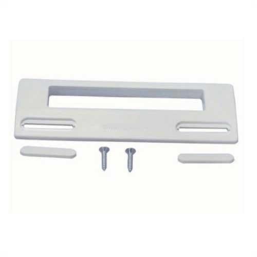 Tirador puerta Frigorifico - Universal - 18,8 x 6,5 cm - Tirador maneta para puerta de frigorifico universal, maneta de repuesto standard compatible con múltiples marcas y modelos. + Características: - Fácil instalación. - Medidas: 18,8 cm x 6,5 cm. - Distancia entre tornillos: longitud mínima 9,5 cm y máxima 17 cm. - Material: plástico ABS. - Color: blanco. + Nota: Imagen orientativa, puede variar a criterio del Fabricante.