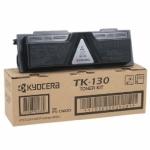 Toner Negro KYOCERA TK130 - Original - Toner Negro KYOCERA TK-130 Original para multifunción - copiadora, impresora, escaner - Kyocera FS1028 FS1128