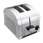 Tostadora pan Lacor 69162 Luxe - 2 rebanadas - Tostadora eléctrica Lacor Luxe para 2 rebanadas de pan, con cuerpo de acero inoxidable. Ideal para la preparación de tostadas para desayunos o meriendas. 4 Funciones disponibles: tostar, descongelar, calentar y parar. Ancho de ranura especial. Selección del grado de tueste en progresión continua. Bandeja recogemigas. Expulsión automática. 3 luces de control. Base antideslizante. Limpieza sencilla. - Capacidad: 2 rebanadas pan. - Peso: 2,55 kg. - Tamaño: 30x24x23 cm. - AC: 220-240v, 50-60hz. - Potencia: 850 w. + Ver Detalles -