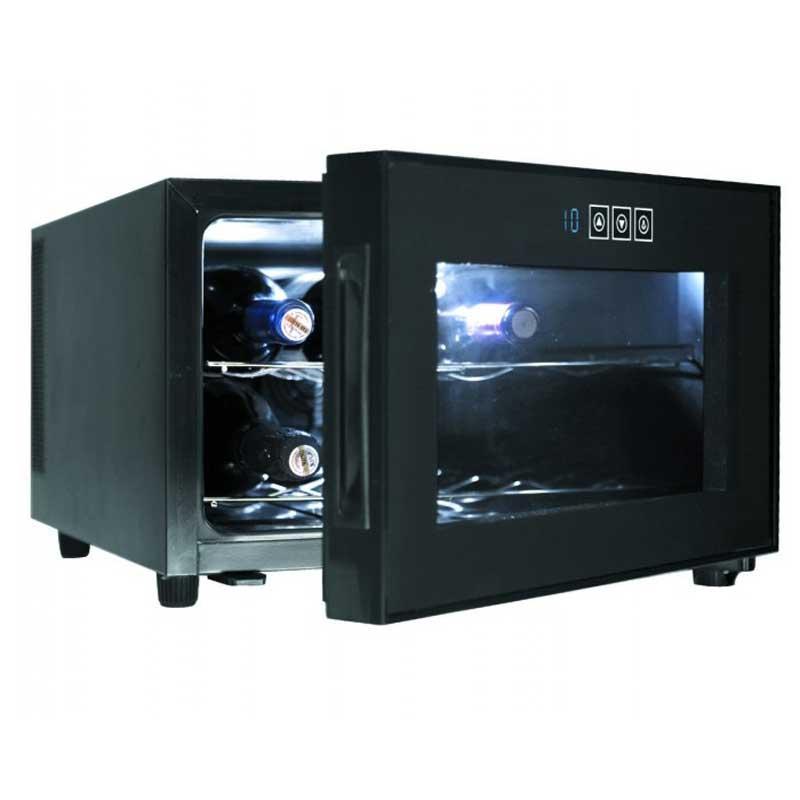 Vinoteca armario refrigerador Lacor 69187 Black Line - 8 botellas