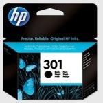 Cartucho Inyección Tinta Negro HP 301 - Cartucho  de Tinta Negro HP 301 Original. Tinta para impresoras: HP Deskjet 1050 / 2050 / 2050s ...