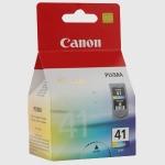 Cartucho Tinta Color CANON CL-41 - Original - Cartucho Tinta Color CANON CL-41. Tinta para multifunción e impresoras Canon PIXMA MP 150 - mp160 - mp450 - IP1200 - 2200. Rendimiento aprox. ( texto y graficos mezclados): 310 paginas.